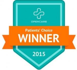 patient choice award winner
