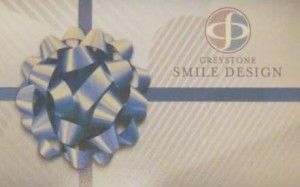 Birmingham Dentist Teeth Whitening Gift Card